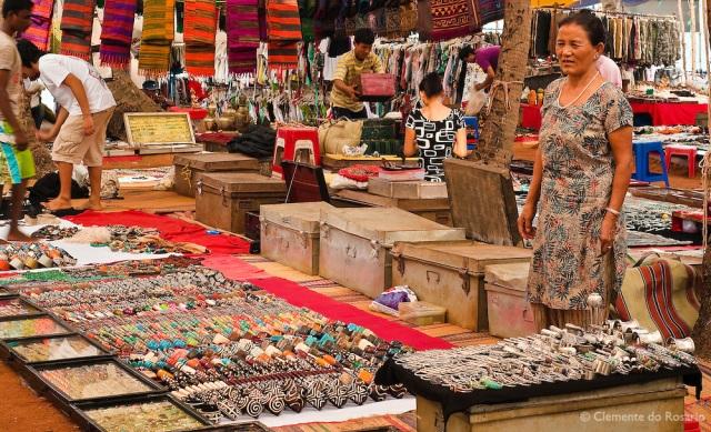 Spices for sale at the Anjuna Flea Market, Goa, India