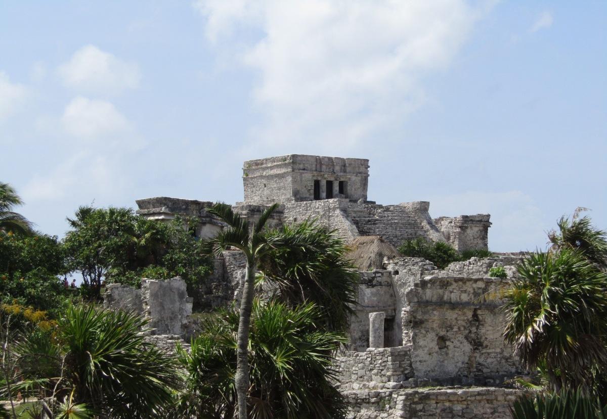 Exploring Mayan Ruins in Tulum,Mexico